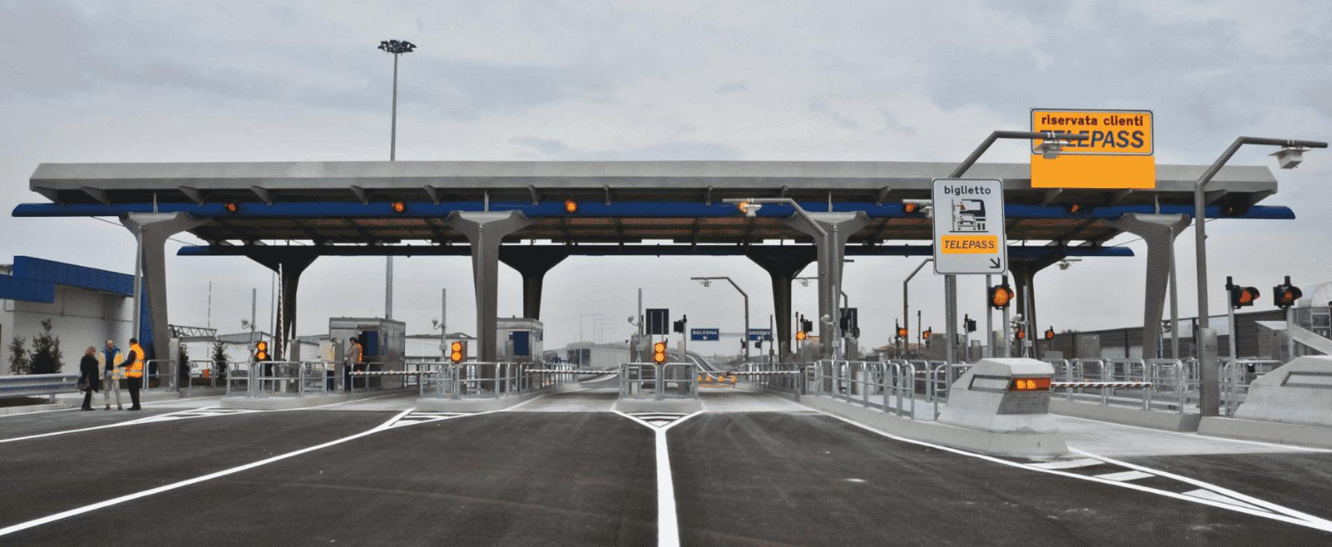 Problemi al casello autostradale