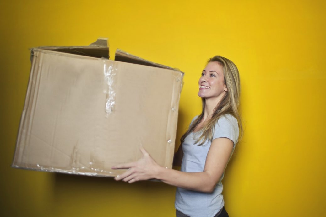 spedizione scatola